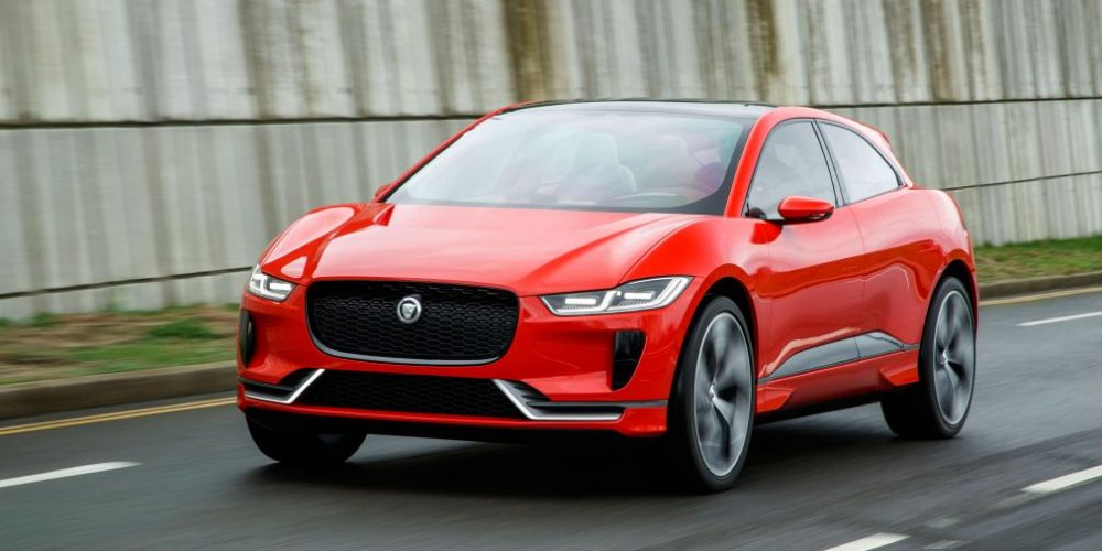 Jaguar Announces Electric Car Investment