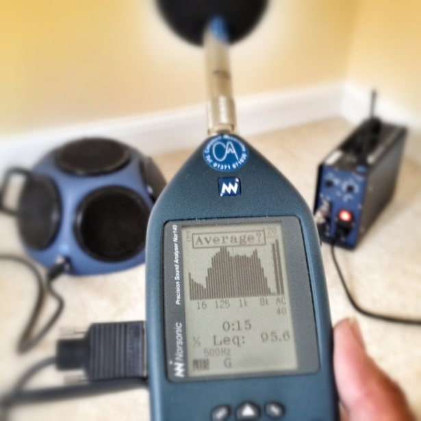 Sound Insulation Testing in London